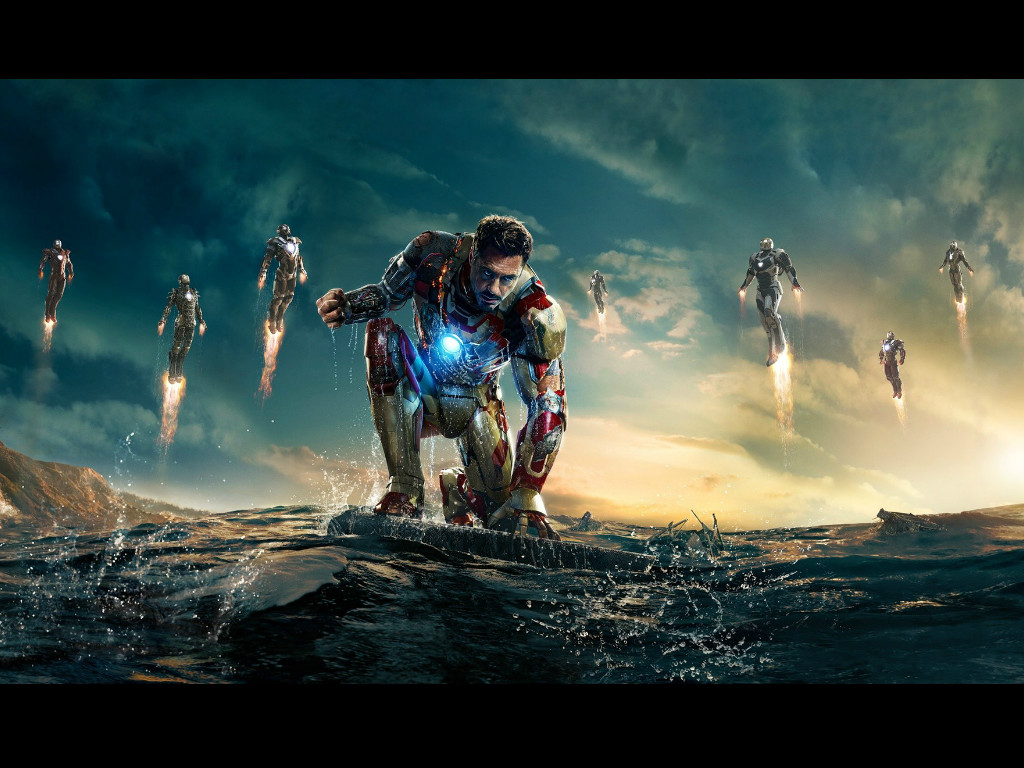 Iron Man 3 HQ Movie Wallpapers