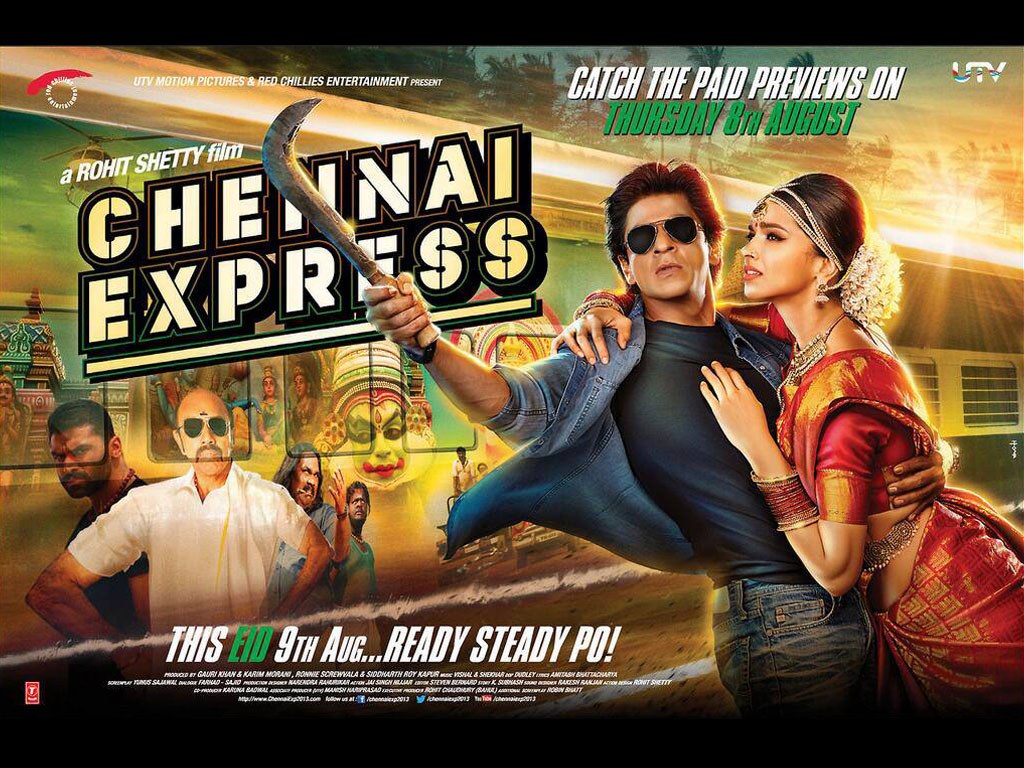 Chennai Express Rahul embarks on a journey to