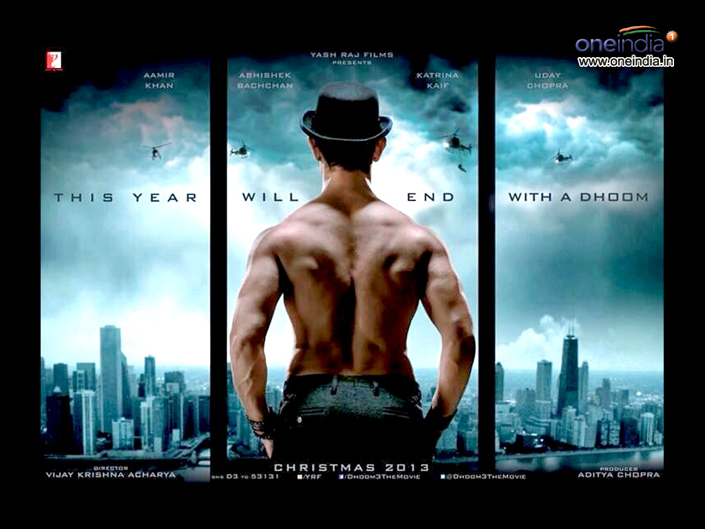 Dhoom 3 Hq Movie Wallpapers Dhoom 3 Hd Movie Wallpapers 10825 Oneindia Wallpapers