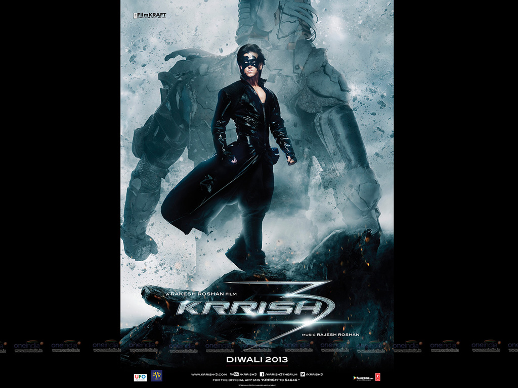 krrish 3 hq movie wallpapers | krrish 3 hd movie wallpapers - 10745
