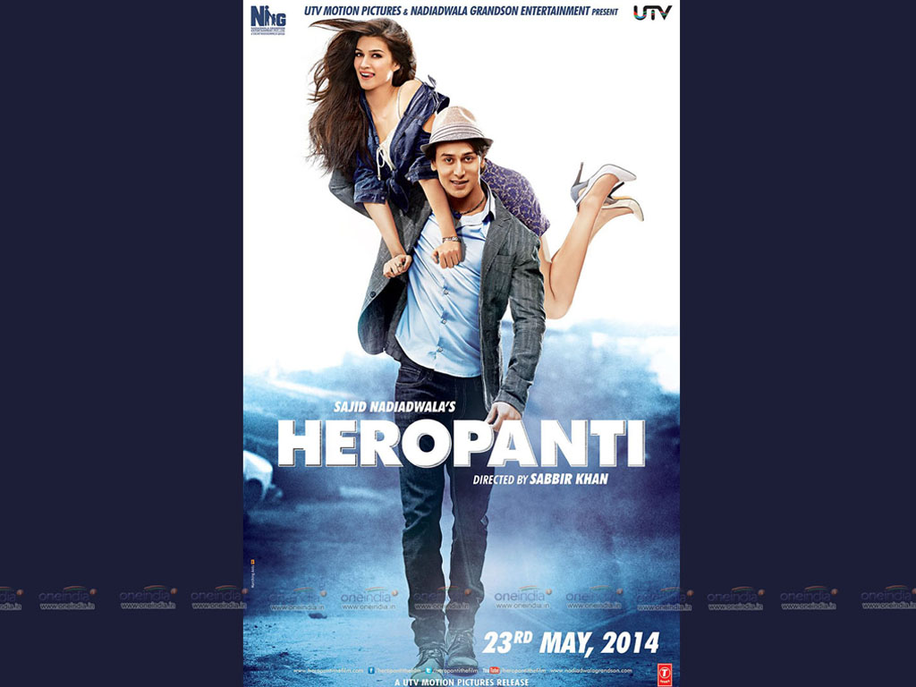 Heropanti 2014 Hq Movie Wallpapers Heropanti 2014 Hd Movie