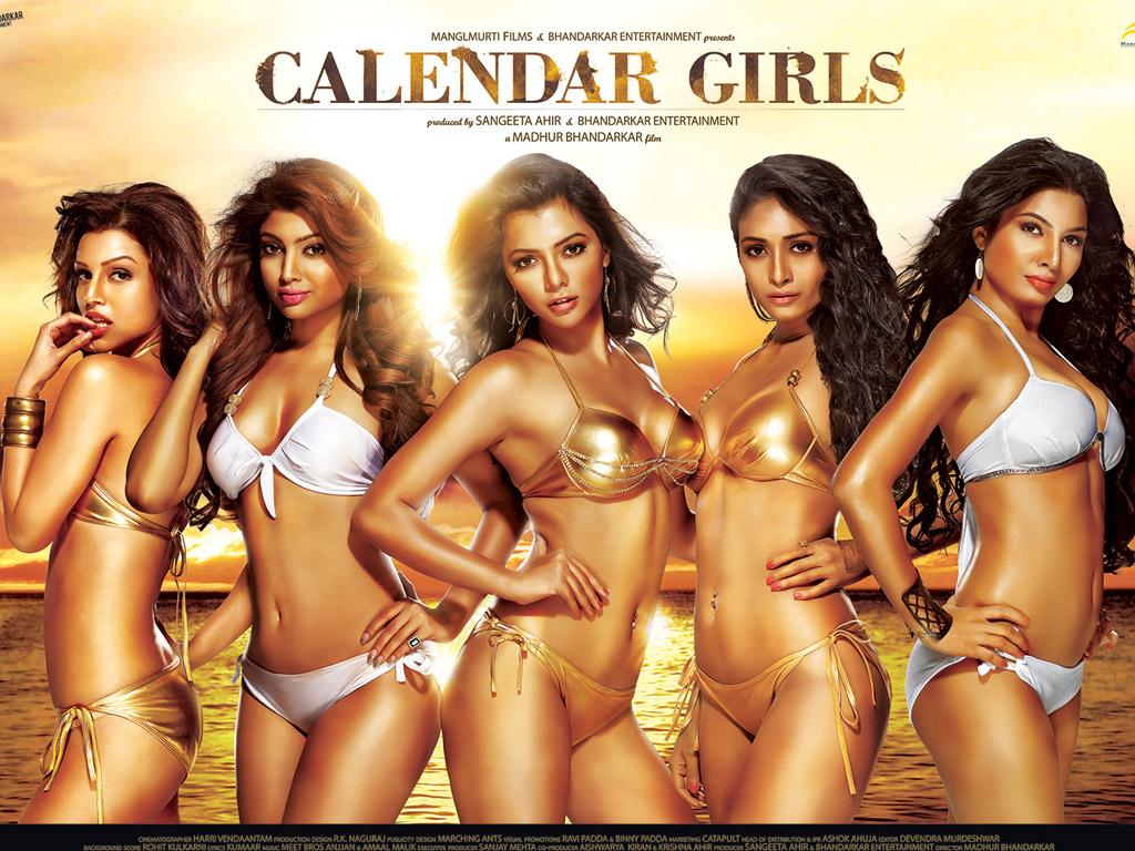 Calendar Girl Wallpaper