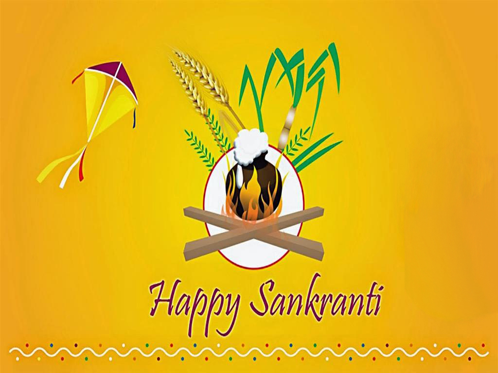 Happy Makar Sankranti Wallpaper Images Free Download