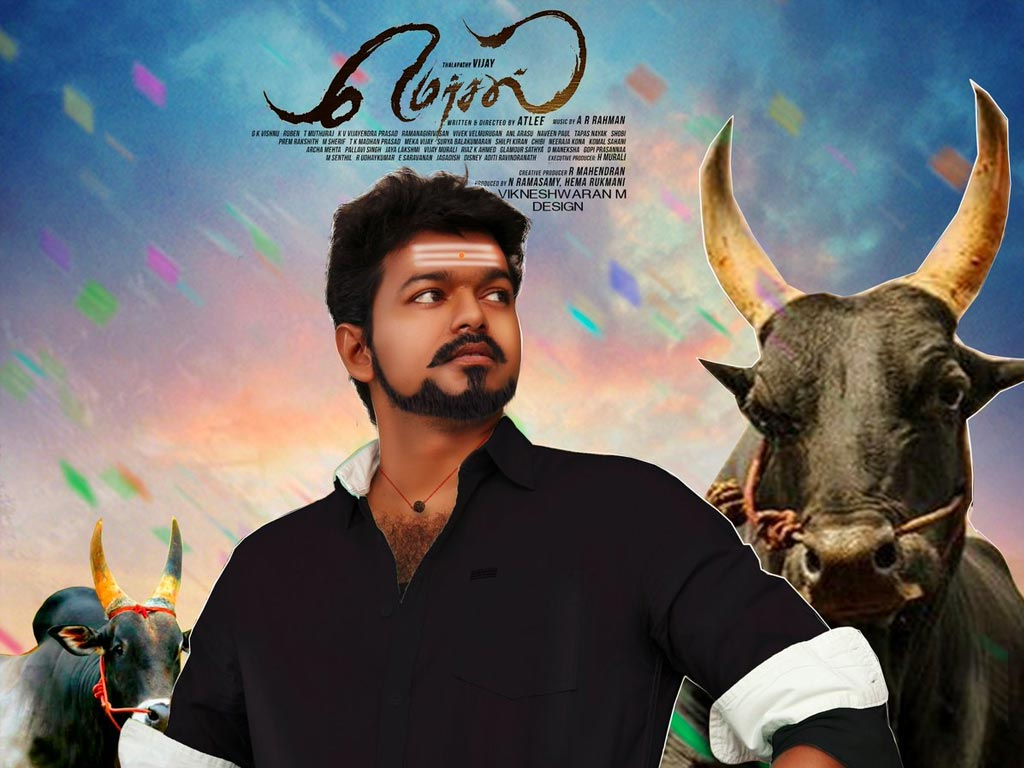 Mersal Hq Movie Wallpapers Mersal Hd Movie Wallpapers 45682 Oneindia Wallpapers