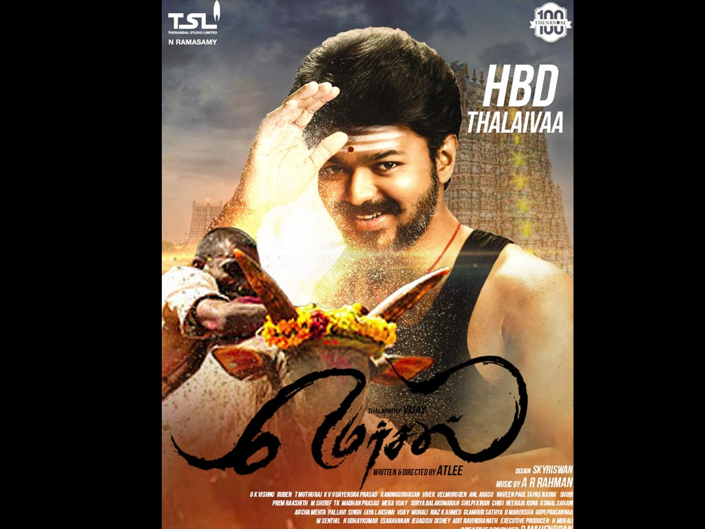 Mersal Hq Movie Wallpapers Mersal Hd Movie Wallpapers 45685 Oneindia Wallpapers