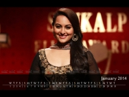 Sonakshi Sinha - January 2014